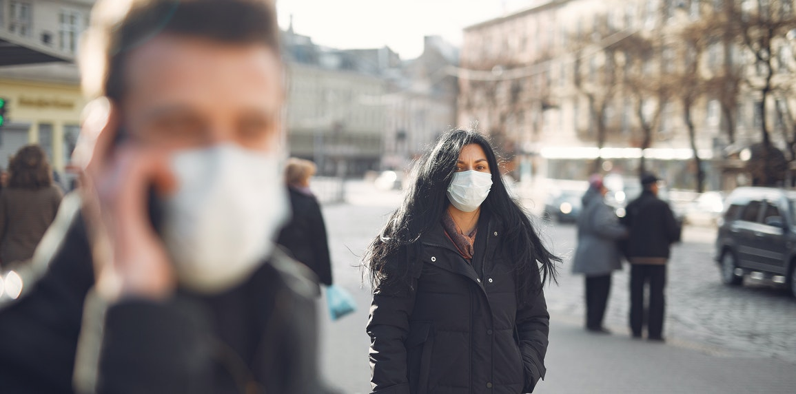 woman in balck jacket wearing face mask, alcohol rehab treatment- look consult, Rehab marketing consultant
